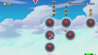 Copter Crisis: Prop Peril Ahead! by Mr.Bucket - Super Mario Maker - No Commentary