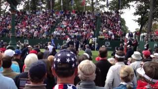 Bubba Watson/Webb Simpson Ryder Cup intro's