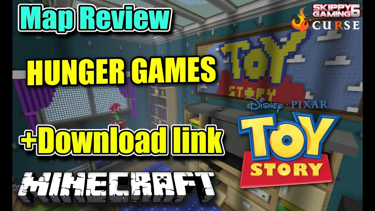 Minecraft Ps3 Toy Story Hunger Games Map Review