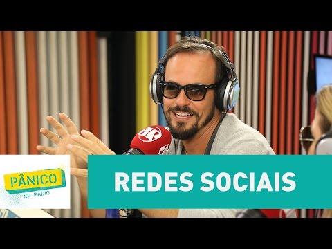 Paulinho Vilhena diz não embarcar na pilha das redes sociais | Pânico