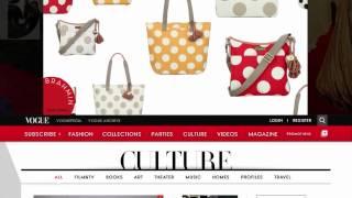 Brahmin - Dots & Stripes on Vogue Thumbnail