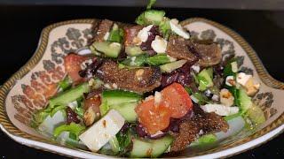 Салат с огурцом и орехами. Cucumber Salad With Walnuts #IT_IS_DELICIOUS #delicious