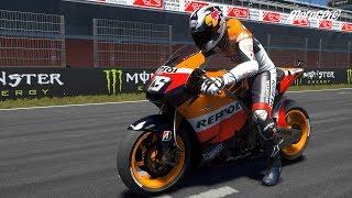 MotoGP 19 - Honda RC212V 2010 - Test Ride Gameplay (PC HD) [1080p60FPS]