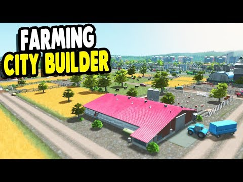 FAVORITE GAME EVER Building Giant City & Farming Community | Cities: Skylines Gameplay