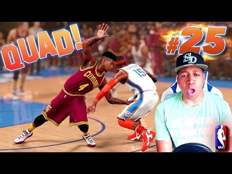 WOW! POINT GUARD QUADRUPLE DOUBLE ? - NBA 2K16 MyCareer Finals Game 1
