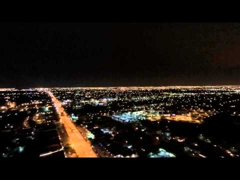 Coral Springs, Panorama, taken at night with the Yuneec Q500.