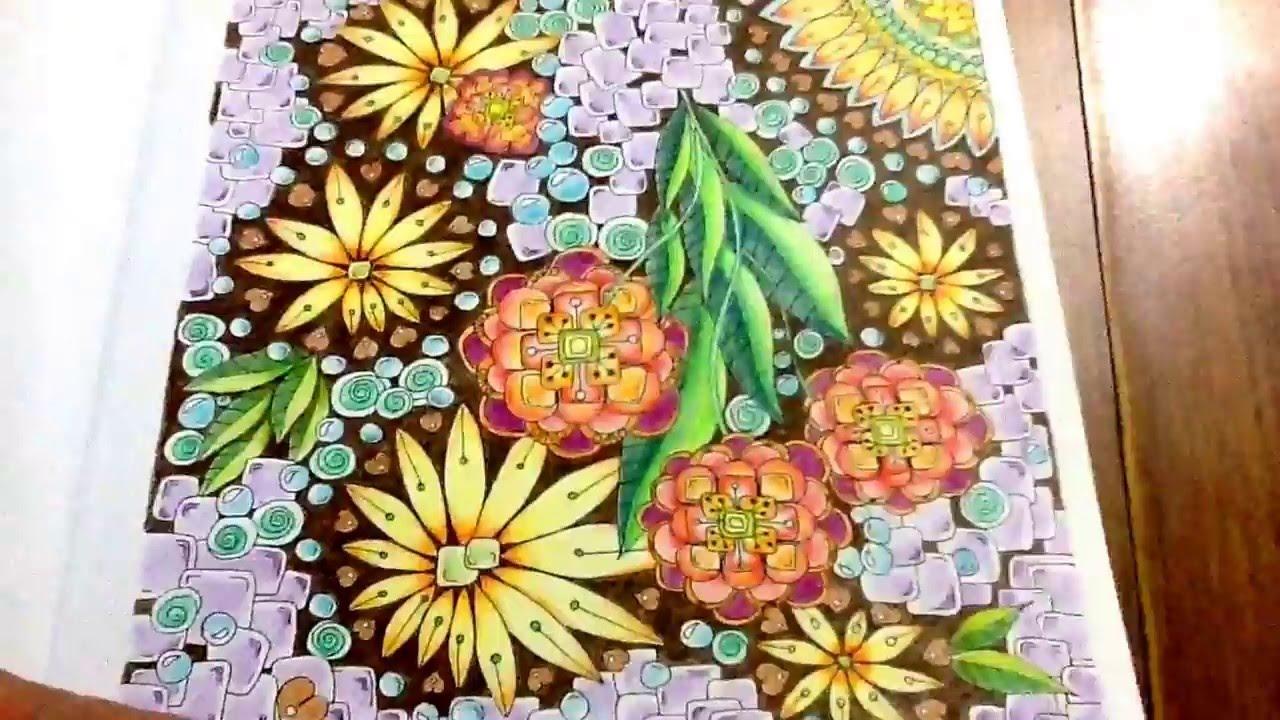 Zendoodle coloring enchanting gardens - Enchanting Gardens Zendoodle Coloring Completed Pages