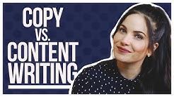 Copywriting vs. Content Writing – What's The Difference?