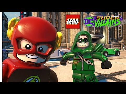 LEGO DC Super Villains All TV Series Heroes Character Pack Characters Arrow, The Flash, Supergirl