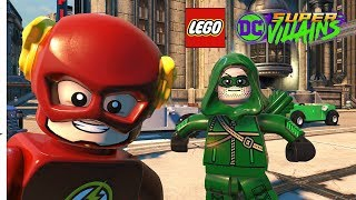 LEGO DC Super Villains All TV Series Heroes Character Pack Characters (Arrow, The Flash, Supergirl)