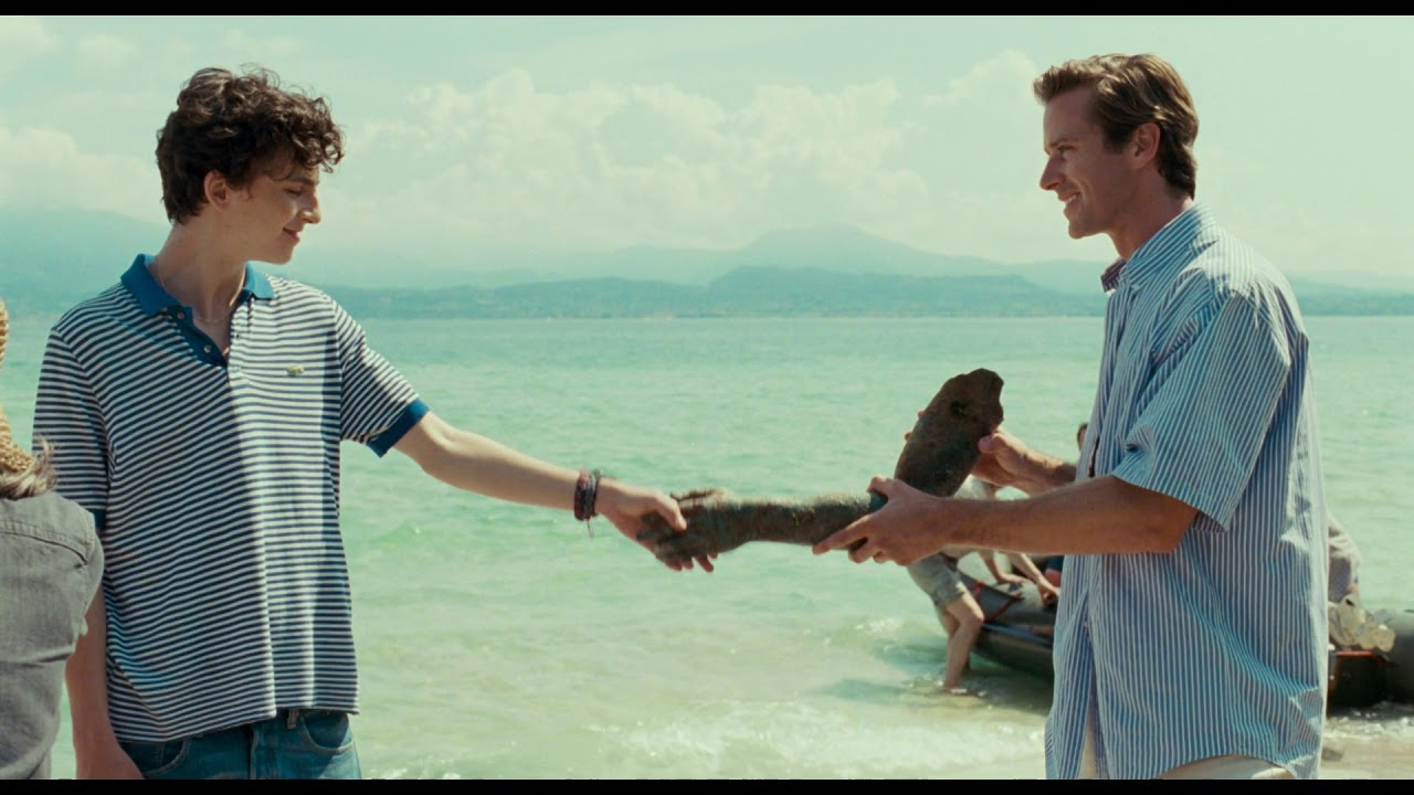 """CALL ME BY YOUR NAME - Filmclip """"Die Statue""""   Ab 02.03. 2018 im Kino"""
