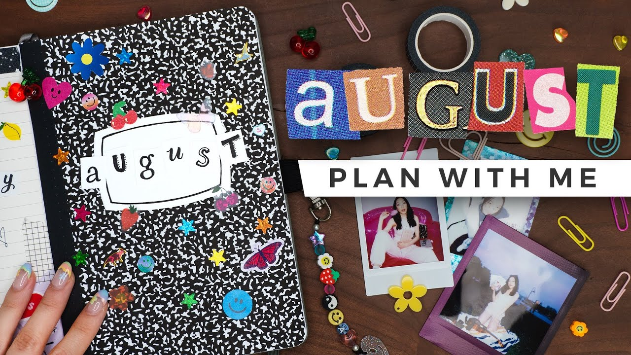 PLAN WITH ME | August 2021 Bullet Journal Setup
