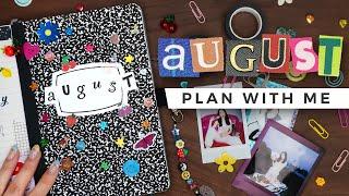 PLAN WITH ME   August 2021 Bullet Journal Setup screenshot 4