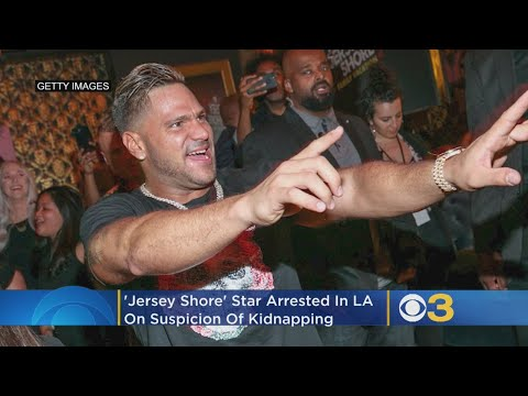 'Jersey Shore' Star Arrested In Los Angeles On Suspicion Of Kidnapping