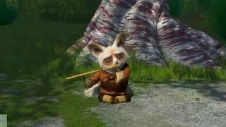 Kung Fu Panda (2008) In Hindi। The Furious Five  Attacks Master Shifu #kungFu #Panda #Hindi
