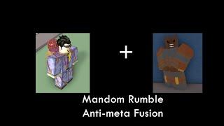 Project jojo | Mandom Rumble Fusion showcase