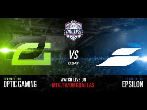 Optic Gaming vs Epsilon UMG Dallas 2015