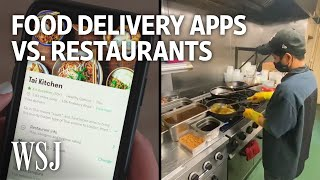 Food-Delivery Apps vs. Restaurants: The Covid Divide | WSJ screenshot 2