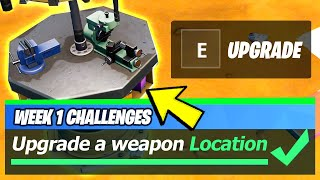 Upgrade Bench LOCATIONS & Upgrade Weapons at Upgrade Benches - Fortnite Season 7