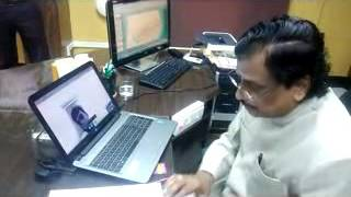 RESPECTED VICE CHANCELLOR OF TAMIL UNIVERSITY CONDUCTED VIVA EXAMINATION ON SKYPE ONLINE