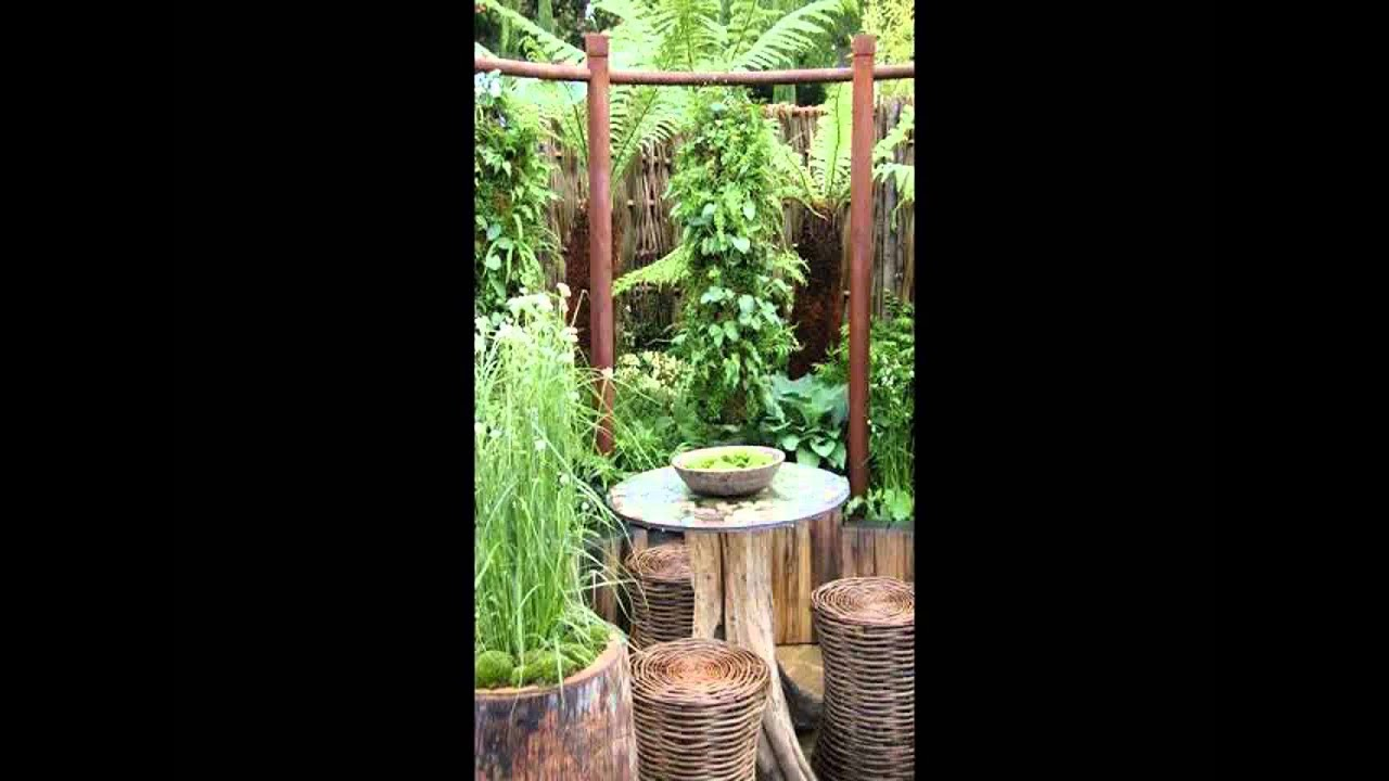 Garden Seating Area Ideas - YouTube