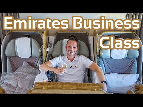 Luxury in the Sky? Emirates Business Class 777-300ER | GlobalTraveler.TV
