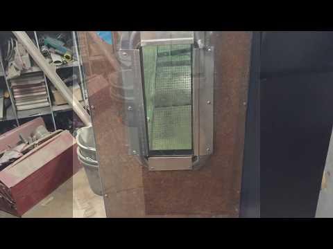 DIY Powder Coat Oven Part 4,  inner door, glass, inner panels