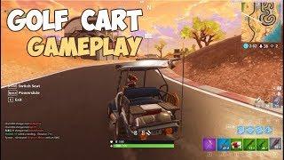 New Vehicle * All Terrain Kart * Gameplay Fortnite Battle Royale