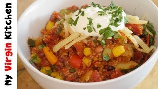 Vegetarian Quinoa Chilli Recipe