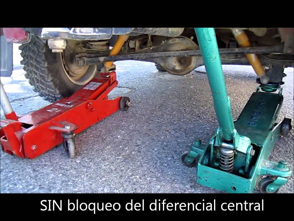 Bloqueo Del Diferencial Central Youtube