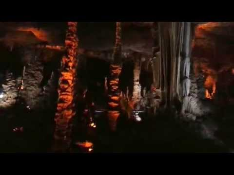 The Stalactite Cave in Israel