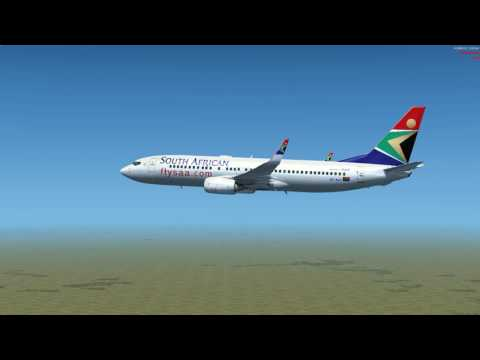 Flight from Windhoek to Gaborone Boeing 737 800 SOUTH AFRICAN