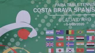 LIVE - Day 4 (Table 1) | ITTF Fa40 Costa Brava Para Open