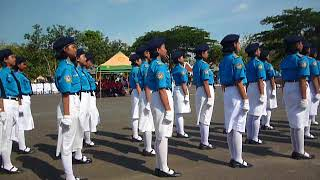 Peleton SMP 2 Semanu, Peleton Terbaik putri LBB Gunungkidul 2017 Pos 3