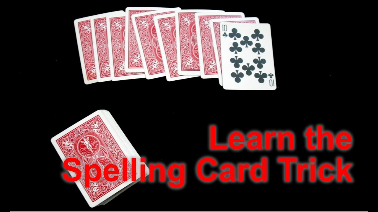 Spelling Bee Card Trick