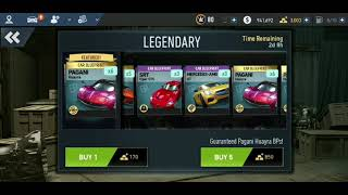 Nfs No limits ( Spending 3000 gold on Legendary Crates. WTF happened