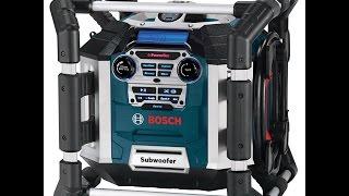 Обзор строительного радиоприёмника BOSCH GML 50; Review construction radio receiver BOSCH GML 50 .