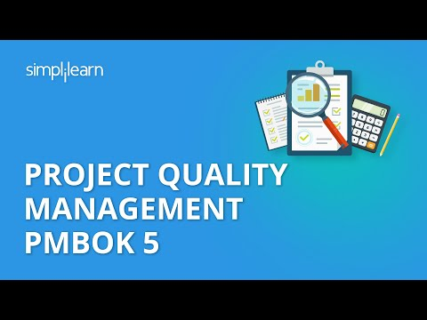 PMP Training Videos | Lesson 8: Project Quality Management | Simplilearn