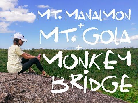 Mt. Manalmon + Mt. Gola Twinhike + Monkey Bridge   San Miguel, Bulacan