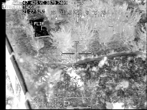 """Apache Pilot Helps Ground Team """"Walk In"""" Grenade"""