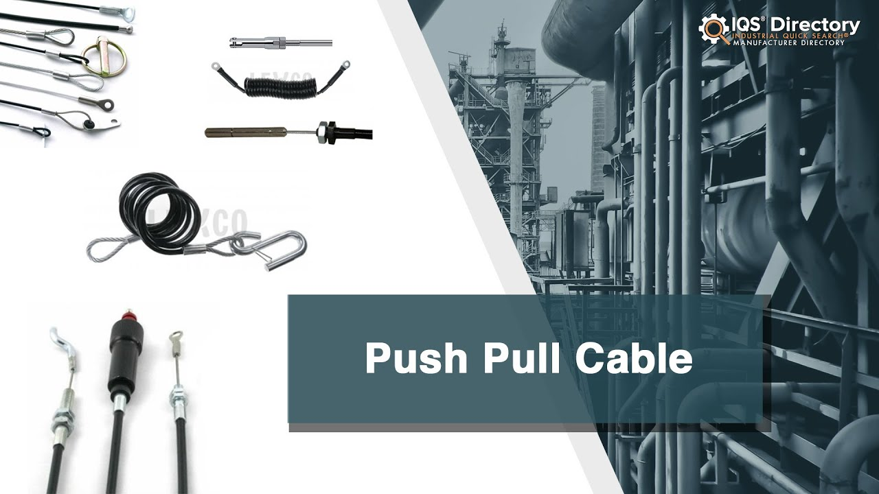 Push Pull Cable Manufacturers | Push Pull Cable Suppliers