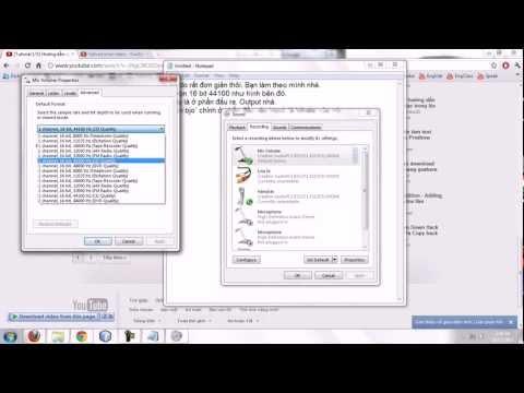 Hướng dẫn lỗi Âm thanh Đầu ra (Output) đầu vào (Input) trong Adobe Audition.
