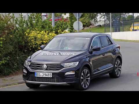 Volkswagen T Roc появился на улицах Германии после недавнего дебюта