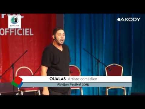 OUALAS  en prestation à Abidjan Festival 2015