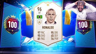 YES! I GOT RONALDO!! TOP 100 RED PLAYER PICKS REWARD PACKS! FIFA 19 Ultimate Team RTG