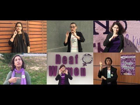 Manifiesto de la CNSE por el Día Internacional de la Mujer