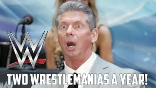 Report: Vince McMahon Wants the WWE to add a SECOND Wrestlemania This Year