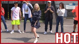 [HOT CLIPS] [RUNNINGMAN]    SUNMI shows her comeback song