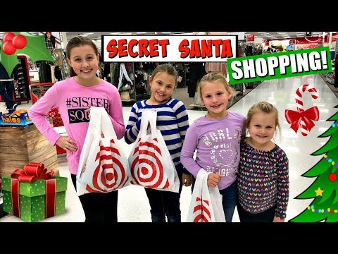 $20 SECRET SANTA CHALLENGE! CHRISTMAS SHOPPING VLOG!