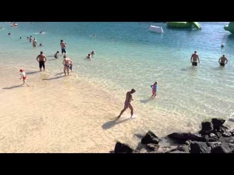 AMADORES BEACH IN JANUARY - GRAN CANARIA PUERTO RICO